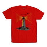 Santa Cruz Lighthouse Tee Red