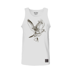 Smoking Dove Tank Top White