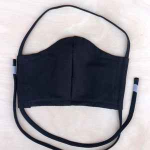 Shalom Clothing Face Mask Black