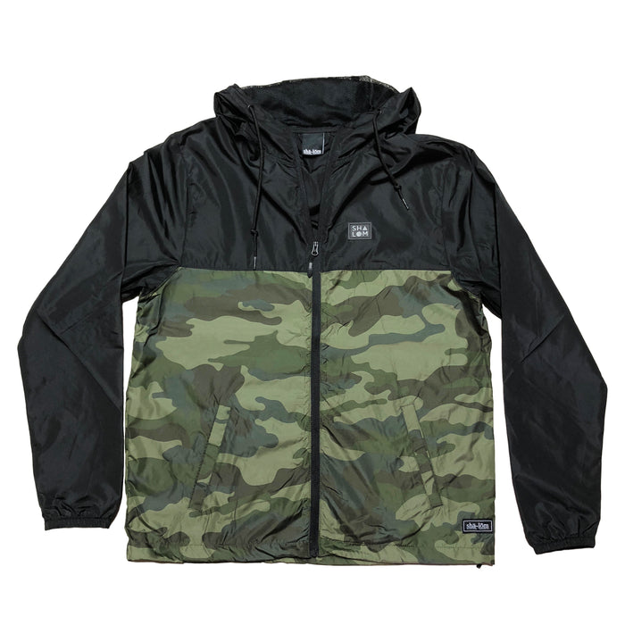 Shapes Men's Black / Camo Jacket