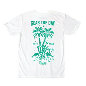 Seas The Day Shirt White