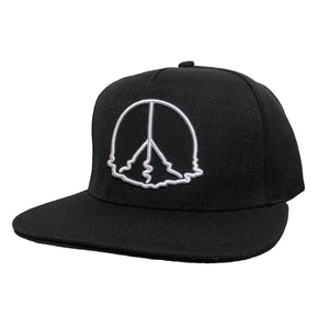 Melting Peace Snap Back Black