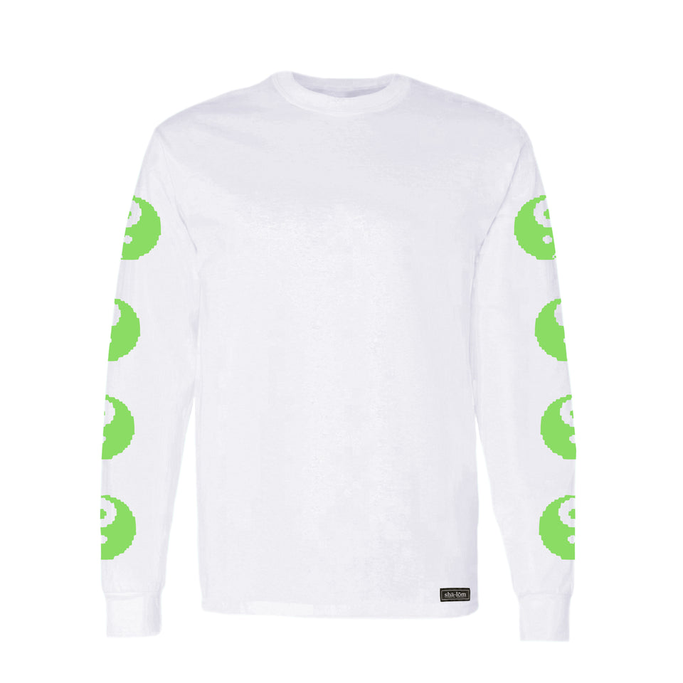 DON'T CRY LONG SLEEVE TEE WHITE