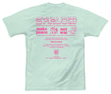 SHALOM WORLDWIDE MENS TEE MINT