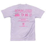 SHALOM WORLDWIDE MENS TEE ORCHID