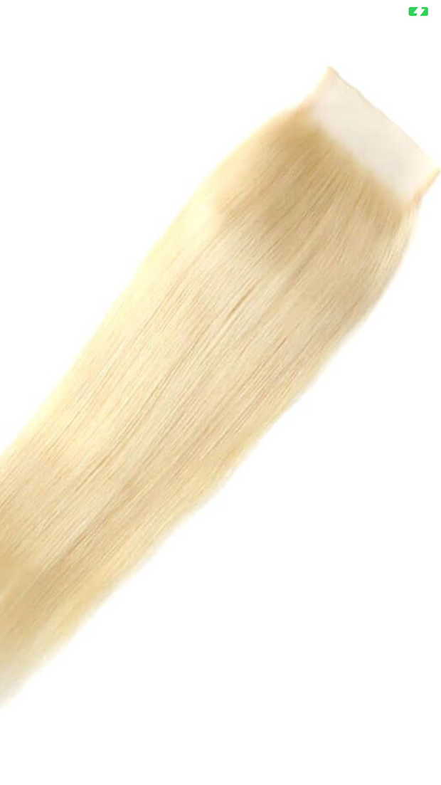 Raw Cambodian Blonde Closure