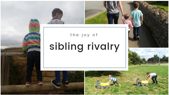 The Joy of Sibling Rivalry
