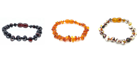 Amber Teething Anklets