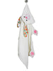 Kids Bunny Hooded Towel
