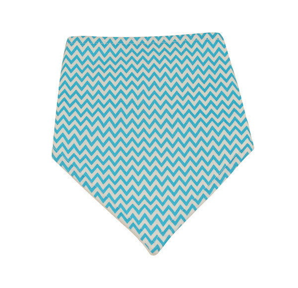 Boys Blue Chevron Dribble Bib