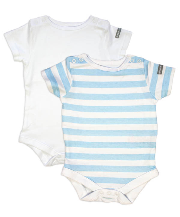 Boys Baby Vest to Prevent Dribble Rash