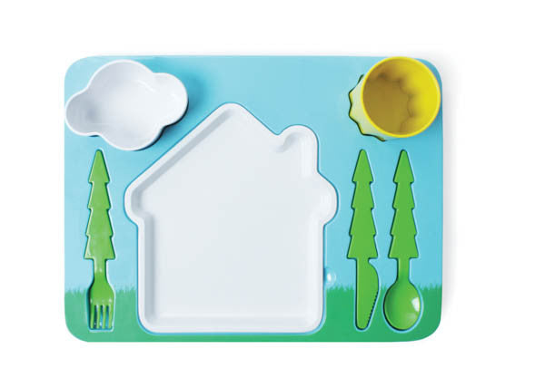 Landscape Dinner Set | Children's Plates for Fussy Eaters