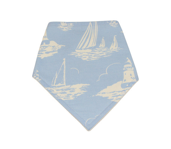 Boys Boat Dribble Bib