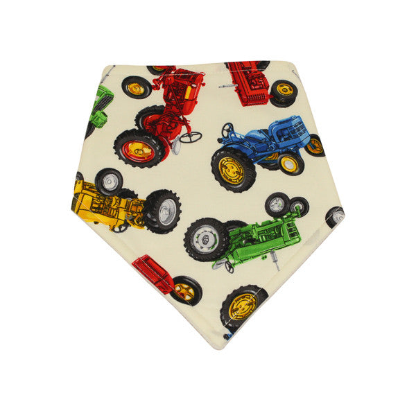 Boys Tractor Dribble Bib