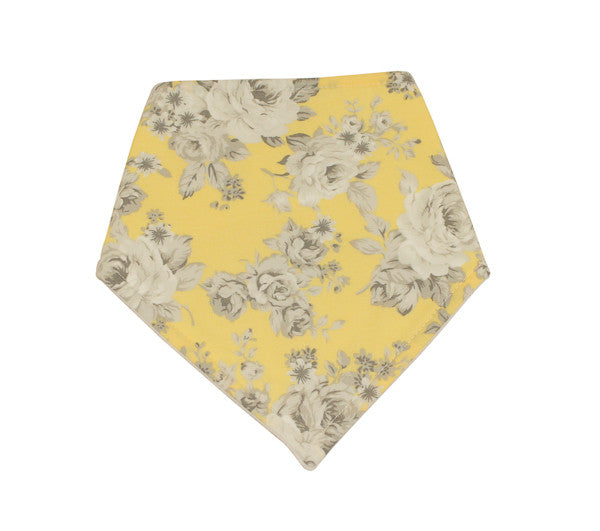 Girls Floral Dribble Bib
