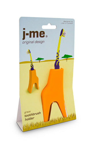 Giraffe Toothbrush Holder | Tidy the Bathroom in Style