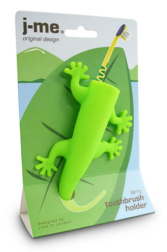 Lizard Toothbrush Holder | Tidy & Brighten Up The Bathroom