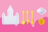 Children's Princess Dinner Set | Plates for Fussy Eaters