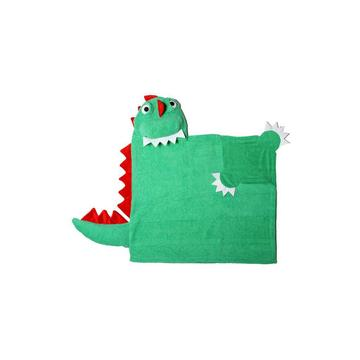 Kids Dinosaur Hooded Towel