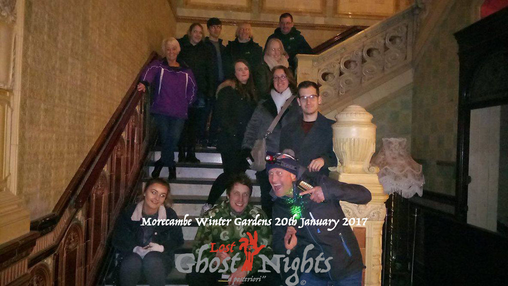 Morecambe Winter Gardens January 2017