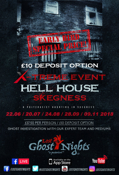 Hell House Skegness - Friday 28th September 2018