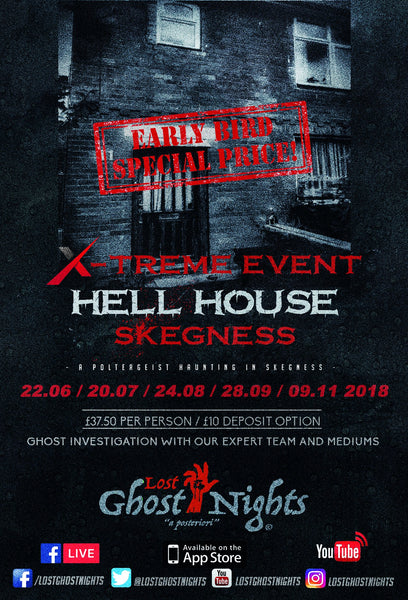Hell House Skegness - Friday 20th July 2018