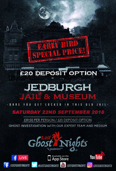 Jedburgh Castle & Jail - Saturday 22nd September 2018