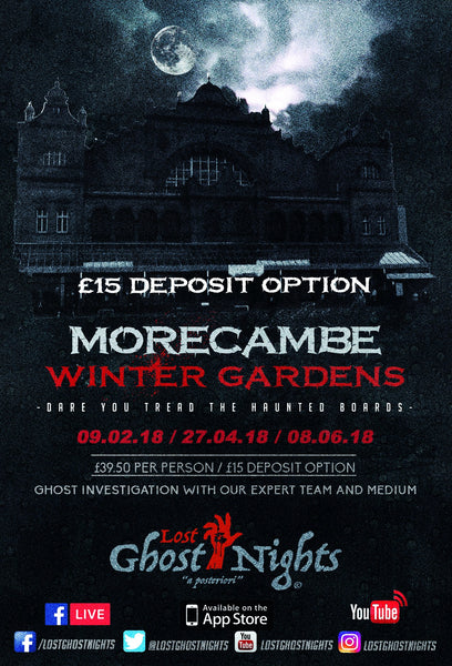 Morecambe Winter Gardens - Friday 9th February 2018