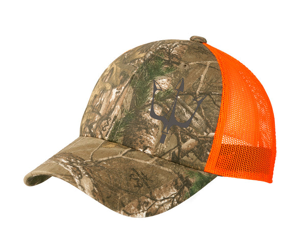Realtree XTRA camouflage hat with reflective Lake City Clothing graphic