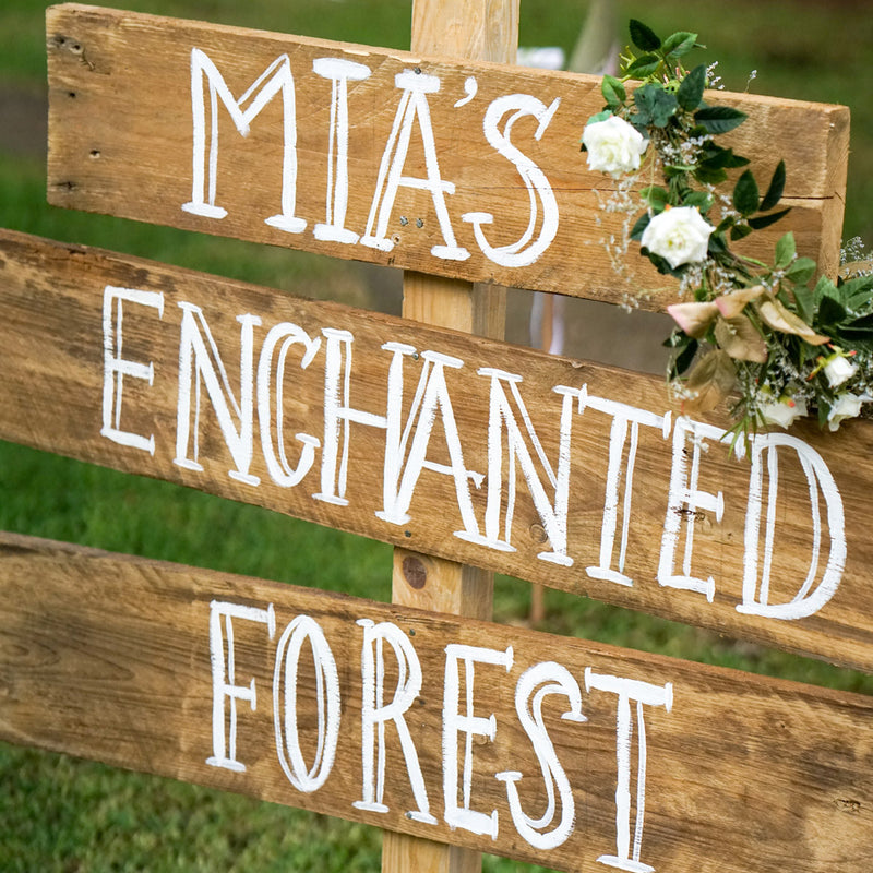 Mia's Enchanted Forest Party