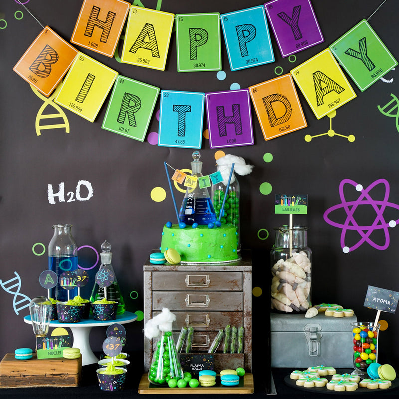 Celebrating Einstein's 137th Birthday with a Fun Science Party