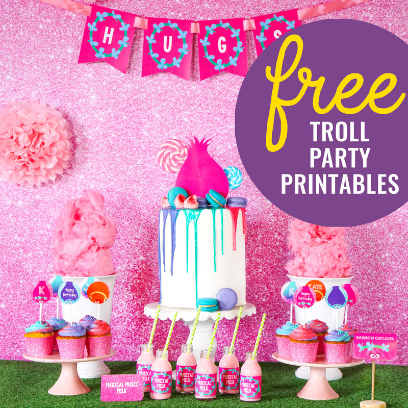 Grab your FREE Trolls Party Set worth $25!