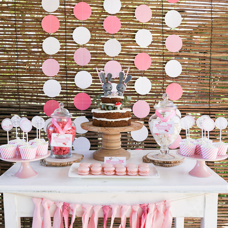 Twin Girl's Baby Shower - Twice as nice, with double the love!
