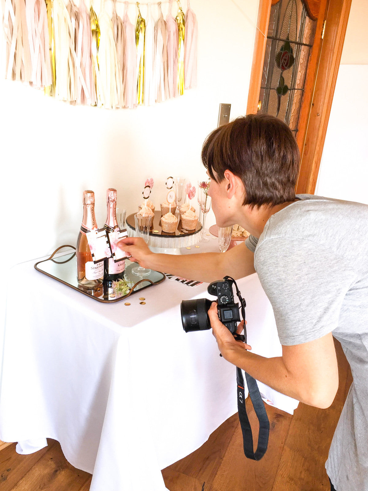 Tips for photographing your party table