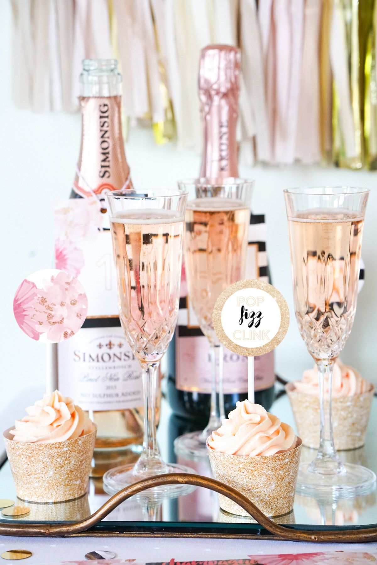 Champagne Tasting Party Printables Set