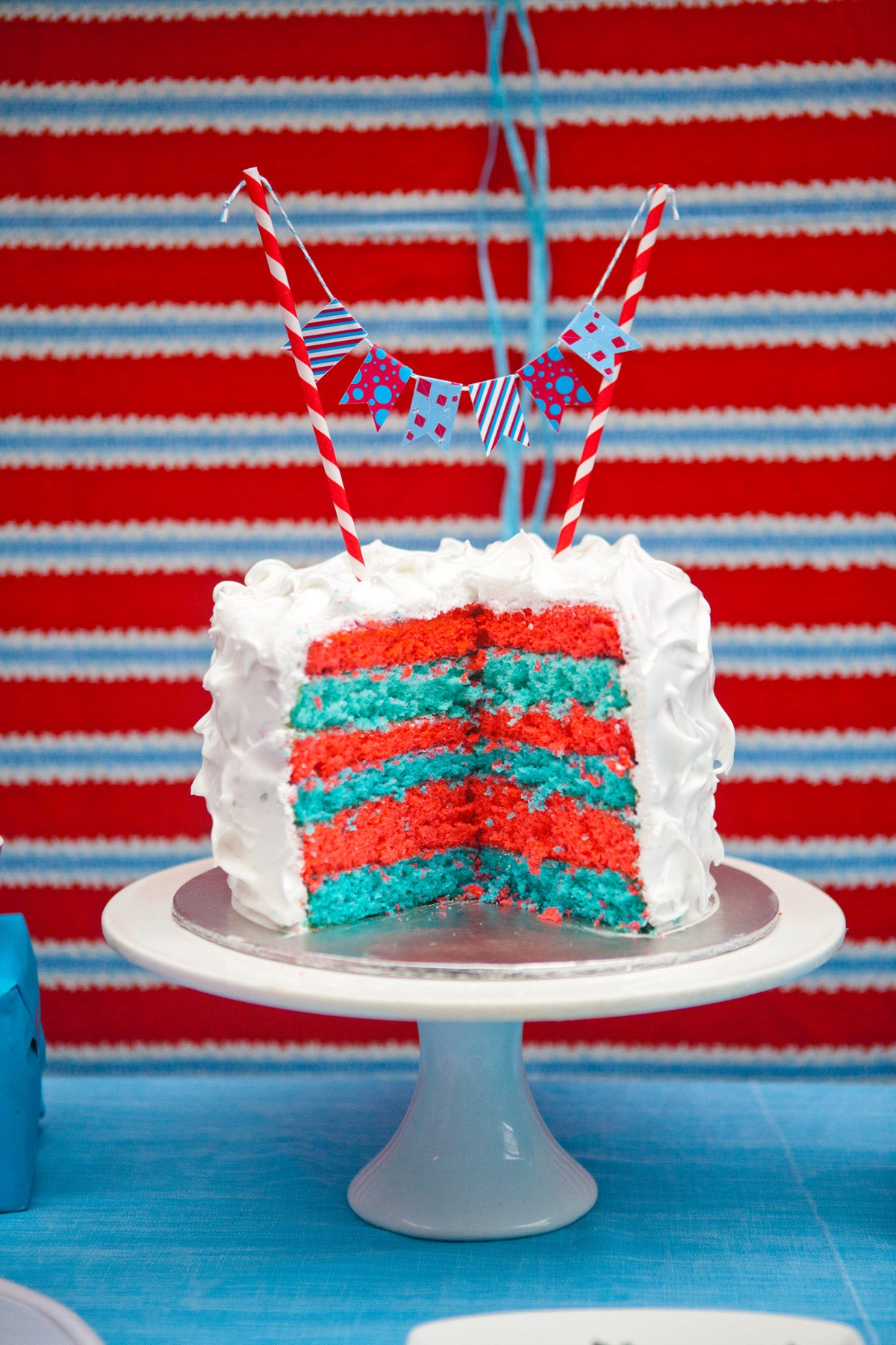 Dr Seuss Kids Party Cake Bunting