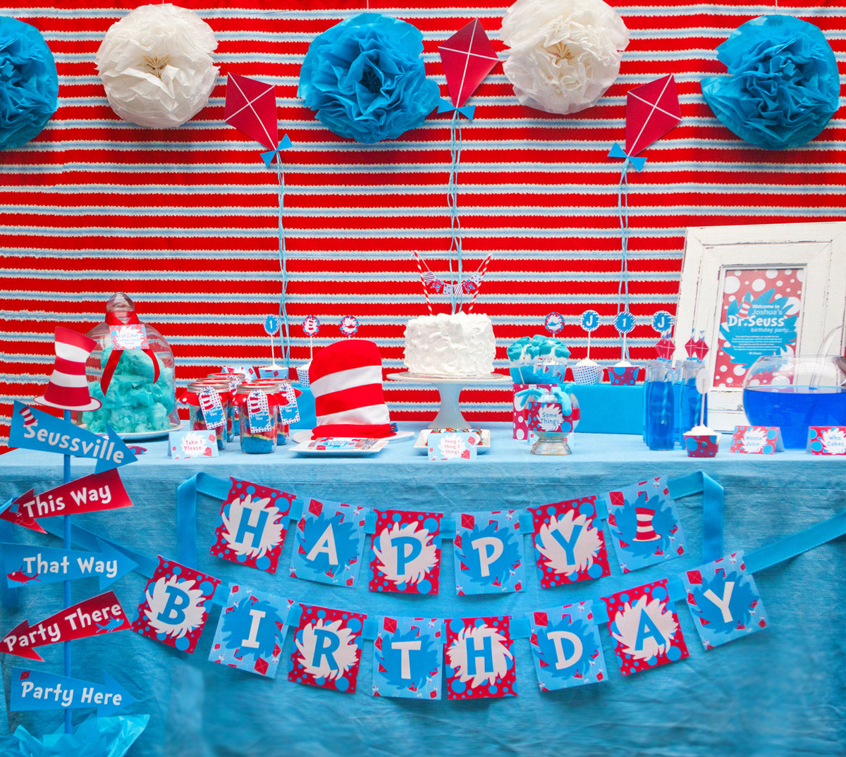 free dr seuss party printables u2013 sunshine parties