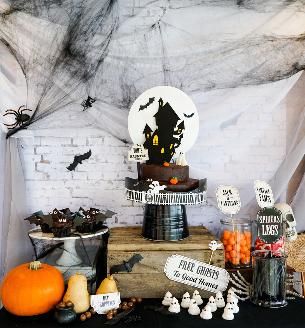 Haunted House Halloween Super Spooky Party Theme
