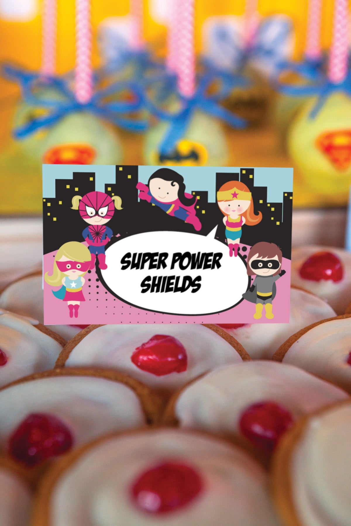 Superhero Birthday Party Fun Food Idea