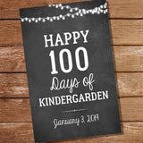 Happy 100 Days Decor Set | Poster | Cake Topper | Banner