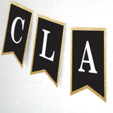 Black and Gold Graduation Party Decorations Set | Graduation Party Decor