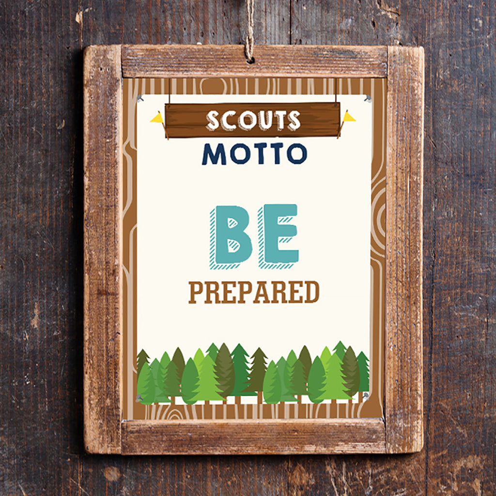 Boy Scout Motto Poster