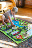 Boys Activity Mat Game | Village Activity Mat for Playtime