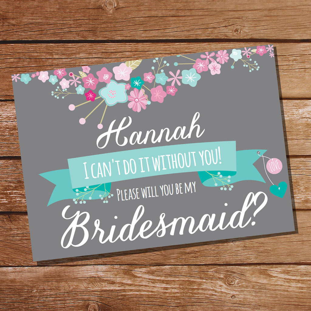 Bridesmaid Invitation | Will you be my Bridesmaid