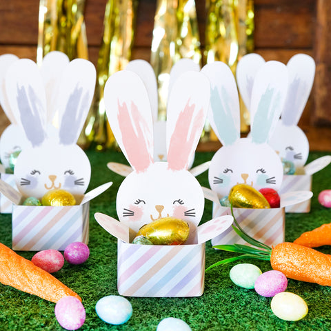 Easter Bunny Cup Treat Holder