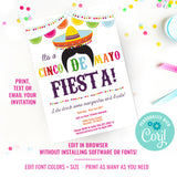 Cinco De Mayo Fiesta Invitation