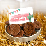Cowgirl Birthday Party Food Labels