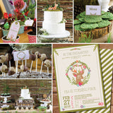 Enchanted Woodland Party Decorations