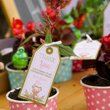 Enchanted Woodland Party Favor Tags