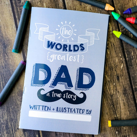 Worlds Greatest Dad Booklet